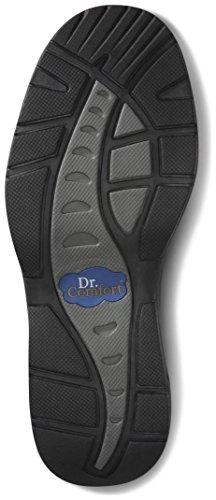 Dr. Comfort Frank Men's Therapeutic Diabetic Extra Depth Dress Shoe: Black 7 Wide (E/2E) Velcro by Dr. Comfort (Image #2)'