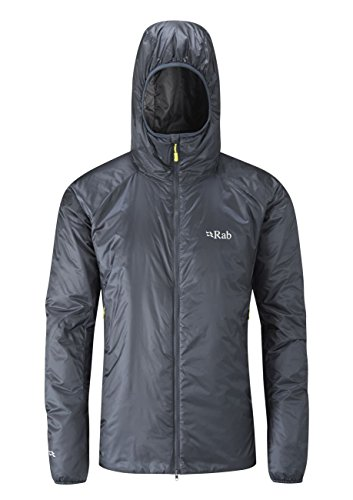 (RAB Xenon-X Jacket - Men's Ebony/Zinc Large)
