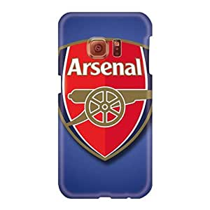 Bumper Hard Cell-phone Case For Samsung Galaxy S6 (Rmg19979eRmL) Allow Personal Design Nice Arsenal Fc Pictures