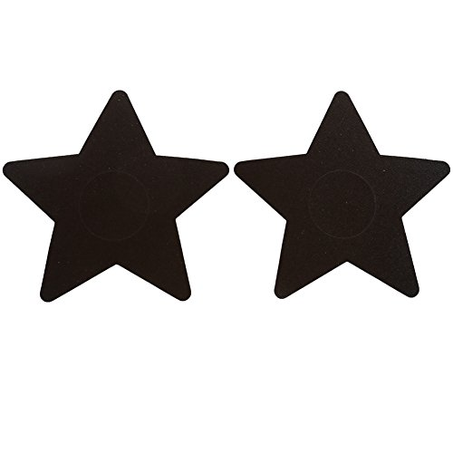 Ayliss 10Pairs Star Pasties One-off Nipple Covers Breast Bra Sticker
