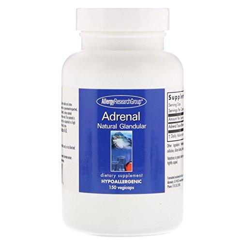 - Allergy Research Group Adrenal Natural Glandular 150 Vegicaps