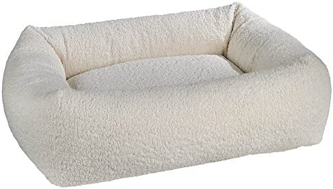 Bowsers Dutchie Bed, Small, Ivory Sheepskin