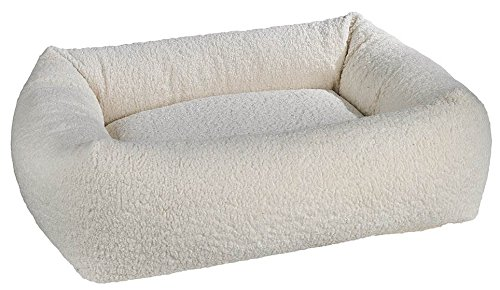 - Bowsers Dutchie Bed, Large, Ivory Sheepskin