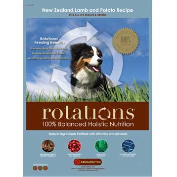 ROTATIONS Dry Dog Food New Zealand Lamb & Potato Recipe, 15 lbs.