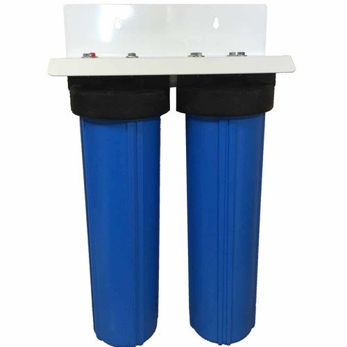 "2-Stage 20"" Big Blue Whole House Water Filter System for ..."