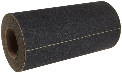 Jessup Safety Track 3100 Non-Slip High Traction Safety Tape (80-Grit, Black, 12-Inch x 60-Foot Roll) by Jessup Manufacturing Company