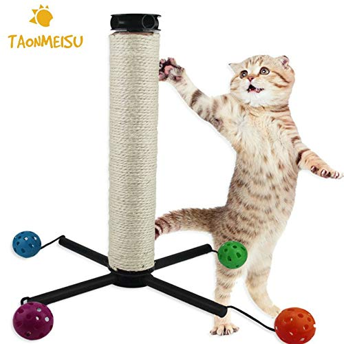 New Arrival Funny Pet Cat Kitten Play Toy cat Climbing Scratch Ball Toys Teaser Interactive Scratch Toys Products for pet Cats
