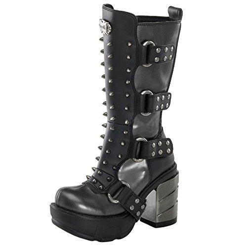 Demonia - Defining Alternative Footware Plateau Stiefel Sinister-202