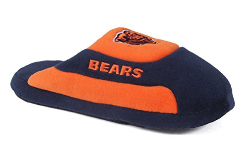 CHI07-3 - Chicago Bears - Large - Happy Feet & Comfy Feet NFL Low Pro - Wear Chicago Bears