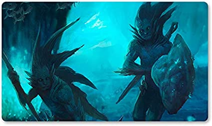 Playmats - Sejiri-Merfolk - Juego de Mesa MTG - Mantel de Juego de Mesa para Yugioh Pokemon Magic The Gathering (60 x 35 cm): Amazon.es: Oficina y papelería