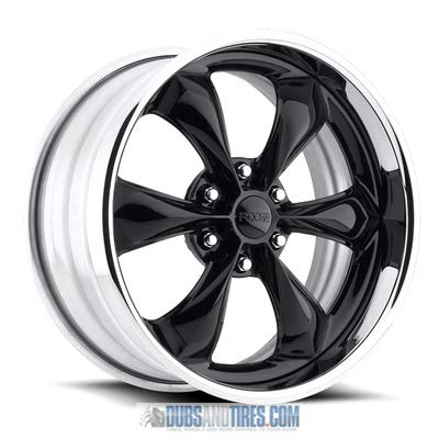 Foose Legend 18x8 Black Wheel / Rim 5x4.75 with a 1mm Offset and a 72.6 Hub Bore. Partnumber F10418806145