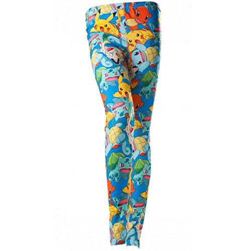 (Pokemon - Women's All-Over Pokemon Characters Print Legging | XL |)