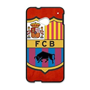 Barcelona HTC One M7 Cell Phone Case Black Phone cover W9319269