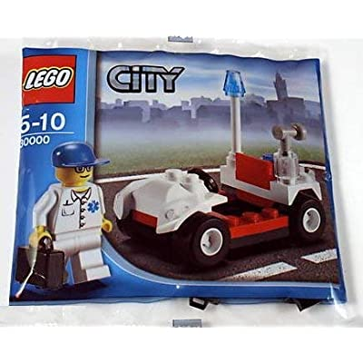 LEGO City Doctor's Car (Bagged) [Toy]: Toys & Games