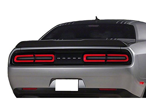 California Dream Works With: 2015-18 Dodge Challenger Factory Style Spoiler in the Paint Code of Your Choice (MATTE BLACK) ()