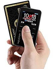 SOYES 7S+Mini Mobiele Telefoons met 1.5 inch IPS Kleur Screen Zaklamp Camera MP3 HIFI Geluid Lange Standby GSM Ultradunne Mobiele Telefoon (Zwart)