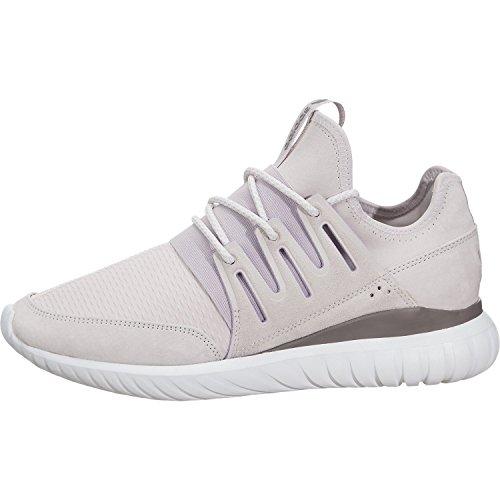detailed look c8d28 1b482 adidas Originals Men's Tubular Radial Fashion Sneaker, Ice Purple Vintage  White St/Tech Earth Fabric, 9.5 M US