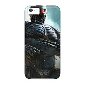Cute Tpu Dana Lindsey Mendez Crysis 2 Fps Game Case Cover For Iphone 5c