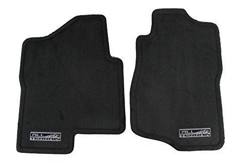 Gm Front Mat - Genuine GM Accessories 19180357 Front Carpet Replacement Floor Mat