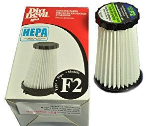 Dirt Devil/ Royal Type F2 HEPA Filter - 1 Piece - Genuine (Dynamite 1 Stick 2)