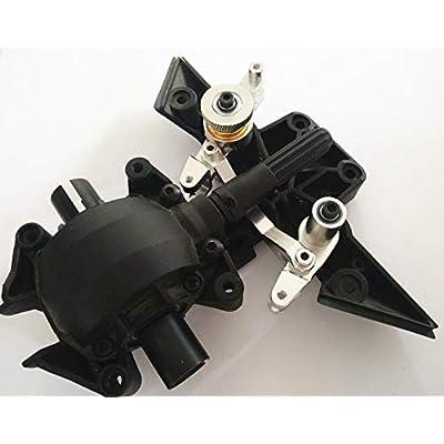 Aluminum Steering Assembly Servo Spring Saver Silver for Traxxas UDR Unlimited Desert Racer 8543: Toys & Games