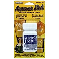 Armor Glass Etching Cream Carded, 2.8 onzas