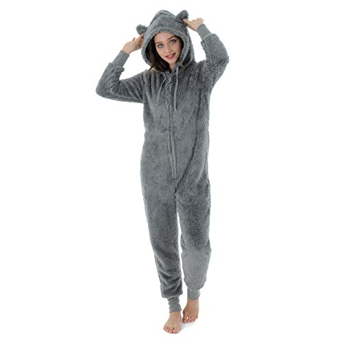 Autumn Faith Ladies Fleece All in One Piece Nightwear - Buy Online in Oman.   dad5c8521