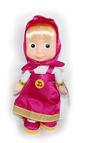 Masha en pourpre - Masha et Michka - poupée en peluche, 29cm