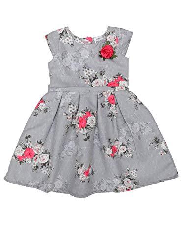 Doodle Girl's A-Line Midi Dress