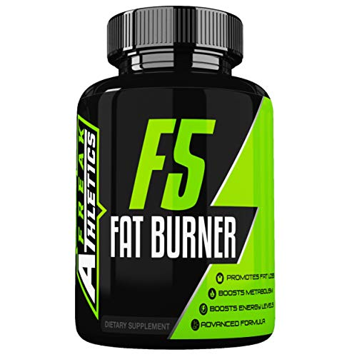 F5 Fat Burner – Elite Level Fat Burner by Freak Athletics – Fat Burners Suitable for Both Men & Women – 90 Capsules…