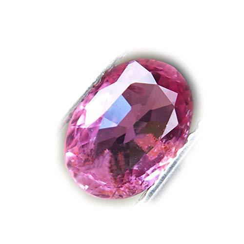 Lovemom 0.96ct Natural Oval Unheated Pink Sapphire Tanzania #R by Lovemom
