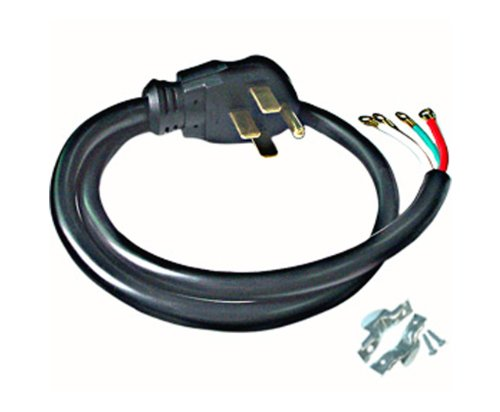 Conntek RL-40401 4-Feet 40-Amp with Wire Range Power Cord Rl Wire