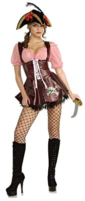 Rubie's Costume Sea Goddess Naughty Pirate Costume
