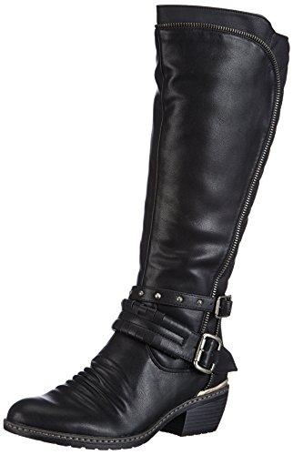 Rieker 92854-00 - Botas Mujer Negro / 0