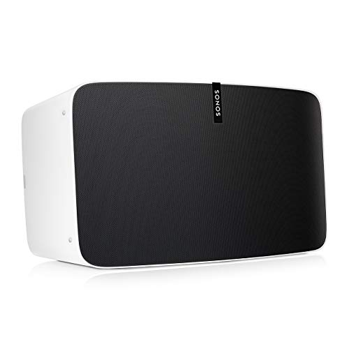 Sonos Play 5 - Ultimate Wireless Smart Speaker for Streaming Music. Works with Alexa. (White) (Renewed)
