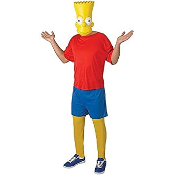X-Large Rubie/'s Official Adult/'sThe Simpsons Fancy Dress Costume