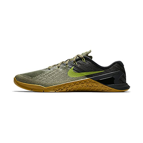 Nike Men's Metcon 3 Training Shoe MEDIUM OLIVE/BRIGHT CACTUS-BLACK 12.0