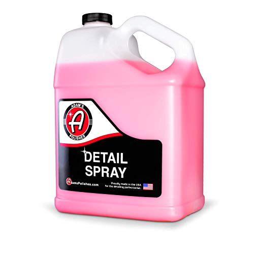 Adam's Detail Spray Gallon - Enhance Gloss, Depth, Shine - Extends Protection with Wax Boosting Technology - Our Most Iconic Product, Guaranteed to Outshine The Competition (Amazon Prime Program Details)
