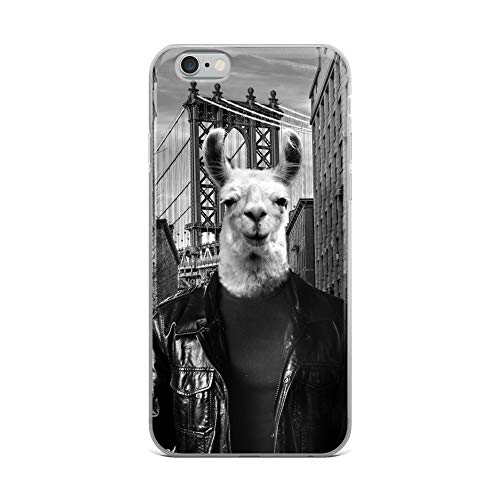 iPhone 6 Plus/6s Plus Case Anti-Scratch Creature Animal Transparent Cases Cover Ny Tourist Animals Fauna Crystal Clear