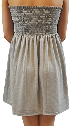 Grey Dress Boobtube Swing Brown Flared XL Mini Sheering Selfie Top Click Leaves New S Ladies Prnted nS7RxZq