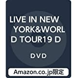 【Amazon.co.jp限定】LIVE IN NEW YORK&WORLD TOUR19 DOCUMENTARY  THE NINTH [99.999](DVD)(三方背収納ケース付)