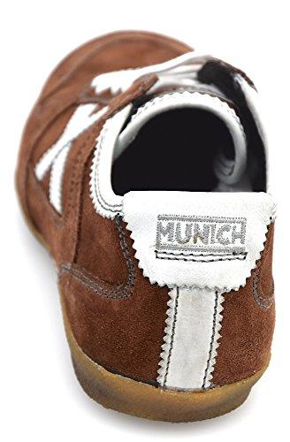 Munich Zapatillas Deportivas Para Hombre Gamuza Marrón Art. 833051 41 EU - 8 USA - 7,5 UK Marrone - Brown