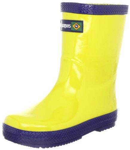 Bottes Enfant Mixte Bleu De Boots Pluie Kids Havaianas Marine Rain Jaune YAqwtw0