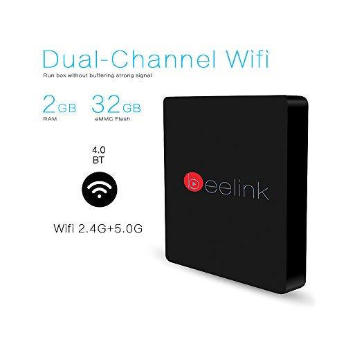 Beelink Mini MXIII II Android 6.0 TV BOX RAM DDR3 2GB ROM EMMC 32GB ...