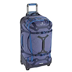 Eagle Creek Gear Warrior Rolling Duffel Bag. This luggage offers ample room with 95 liters of packing space and organized storage. Featuring water resistant material, versatile carrying straps and the option to transport on two wheels, this ...