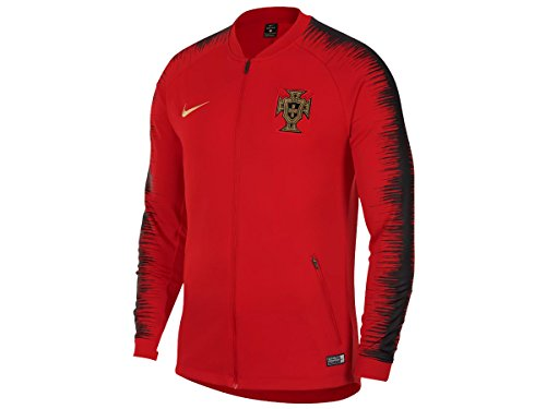 2018 Nike Portugal Anthem Jacket (Gym Red/Black) (L) (Portugal Replica Jersey)