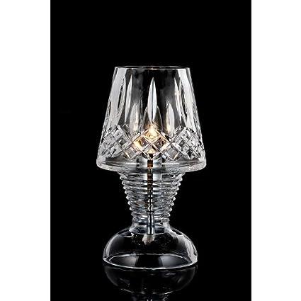 works crystal repair lamp hurricane waterford glass bruening repaired