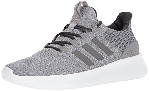 adidas Men's Cloudfoam Ultimate Sneaker, Grey Three Fabric, Grey Four Fabric, Carbon, 11 M US