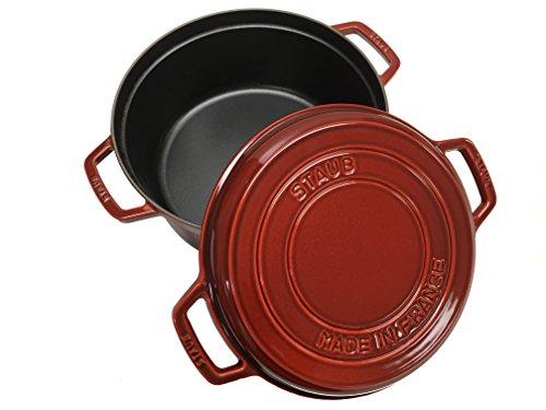 Staub Braise & Grill Red 7 Qt. by Staub