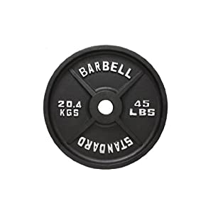 USA Sports Black Olympic Weight Plate
